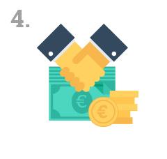 Kreditangebot mit besten Zinssatz anfordern